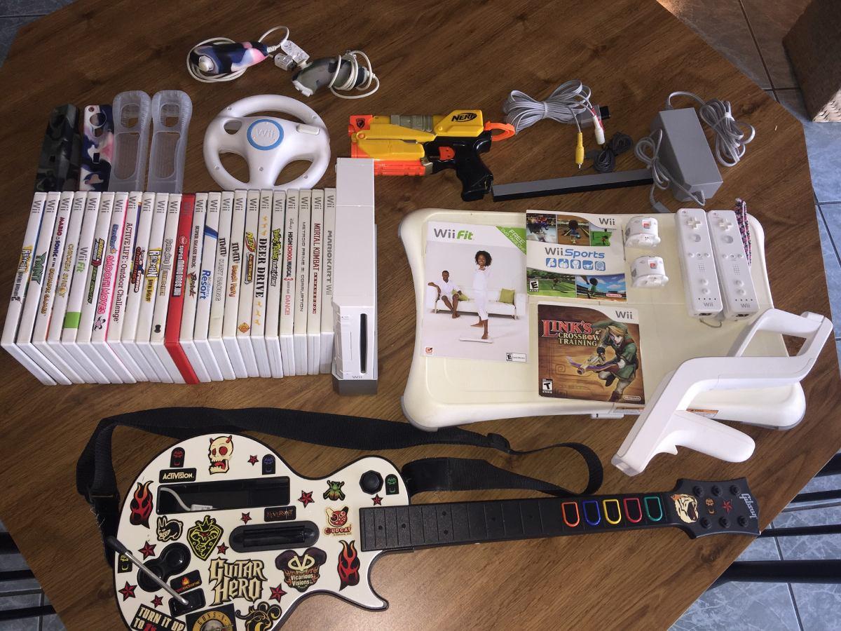 Set De Consola Wii Juegos Y Accesorios 667000 En