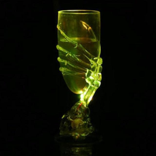 Copa De Vino Brillante Con Diseño De Calavera De Halloween, - $ 421.23 en  Mercado Libre