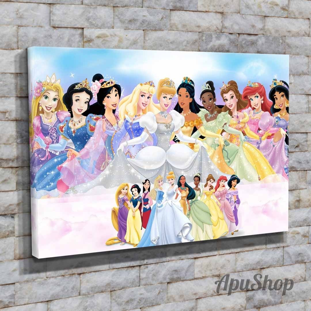 Dibujos Animados Disney Princesas Lista La Chicas Princesas
