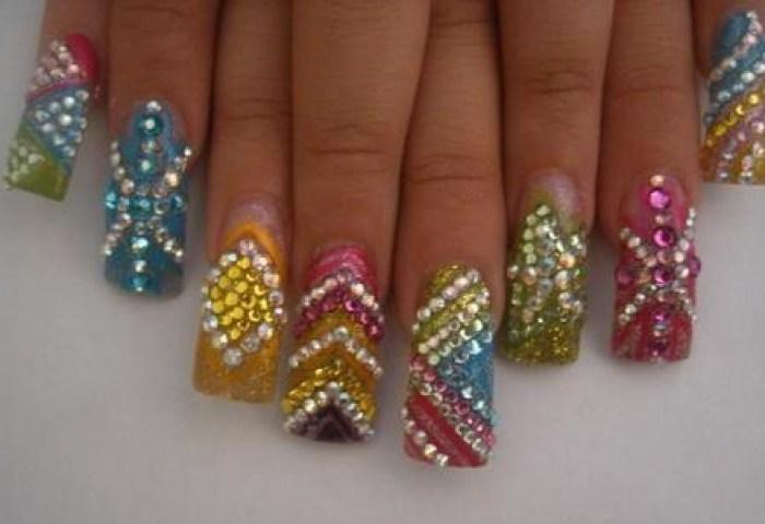 1000 Piedras Cristales Para Decoracion De Uñas Y Acrilicas 8999