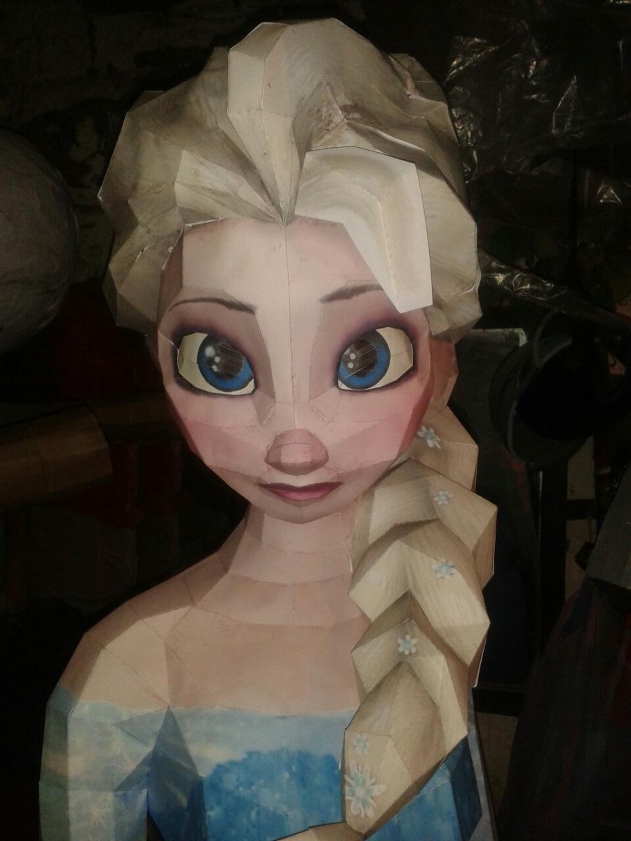 Elsa Ana Olaf De Frozen Pi 241 Ata Detallada 3d 699 00 En