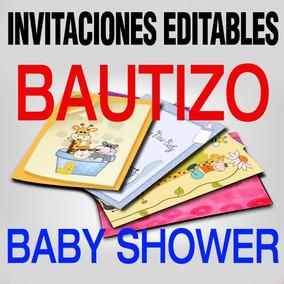 Marcos Para Idea Invitaciones Unica De Bautizo Gratis Unix