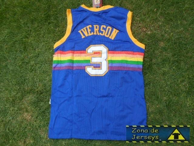 0eed3e2d66d coupon code for allen iverson denver nuggets rainbow jersey 6920c 6e46f