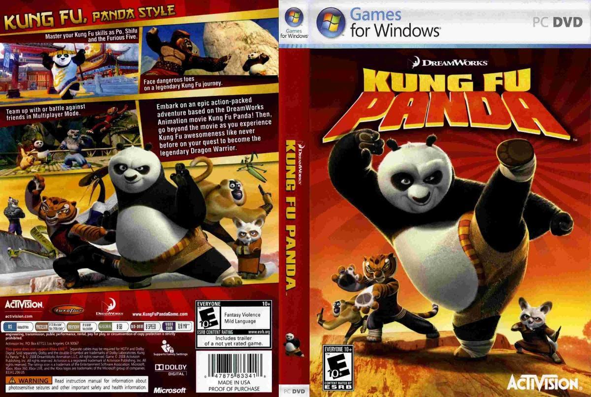 Jogo Para Pc Kung Fu Panda R 3999 Em Mercado Livre