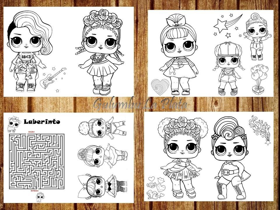 Dibujos De Las Lol Para Imprimir Y Colorear On Log Wall