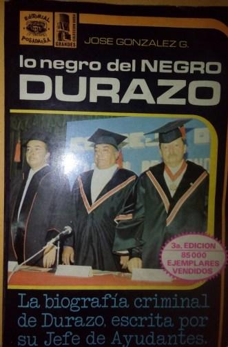 """Resultado de imagen para Lo Negro del """"Negro"""" Durazo"""""""