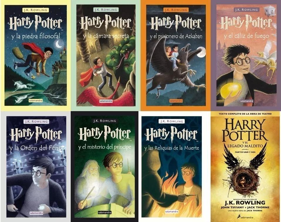 """Resultado de imagen para jk rowling harry potter libros"""""""