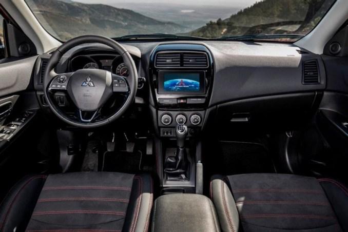 Interior do Mitsubishi ASX 2019