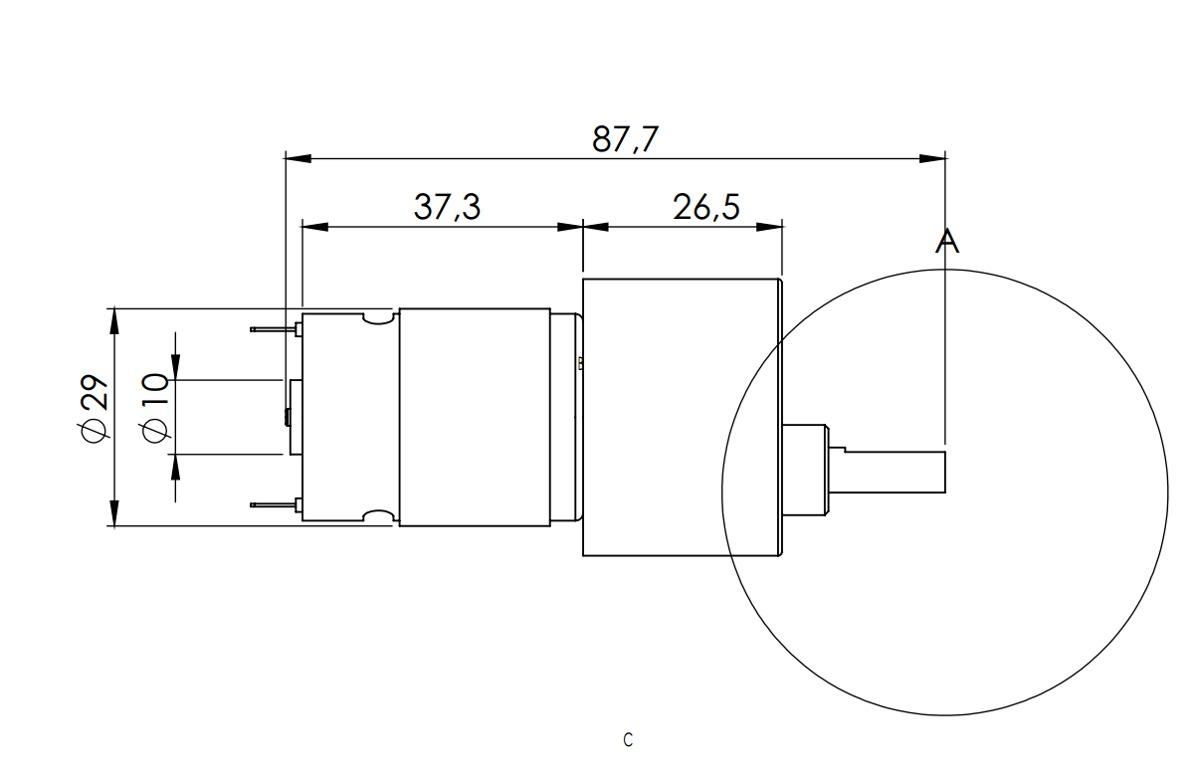 1 Rpm Micro Motor