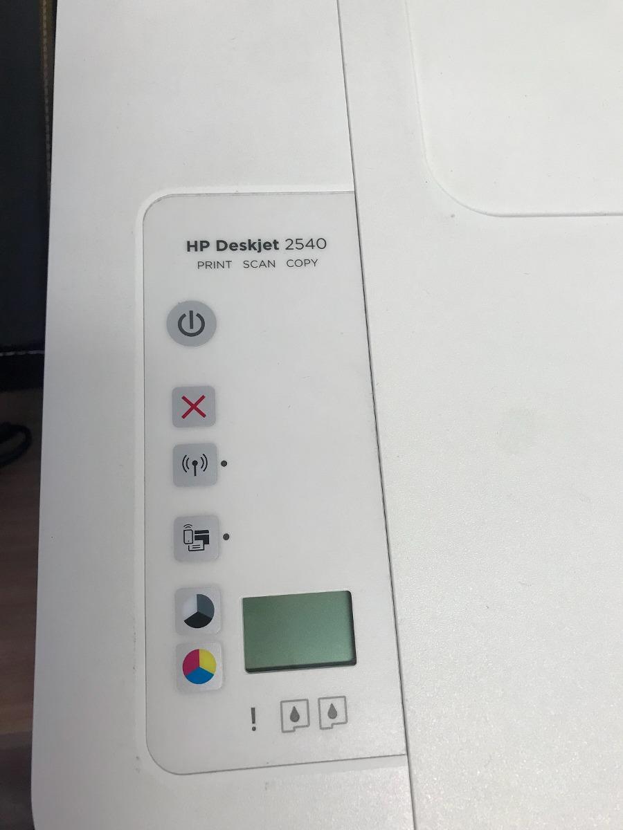Multifuncional Hp Deskjet 2540 Com Defeito C Cartucho