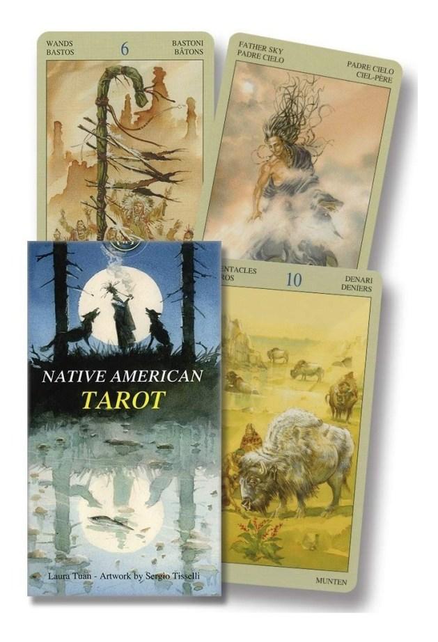 Native American Tarot - Lo Scarabeli - Cartas De Tarot - R$ 196,60 ...