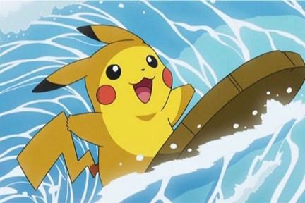 Resultado de imagem para surfing pikachu