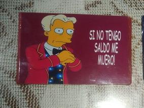The Simpsons Credencial En Mercado Libre Argentina