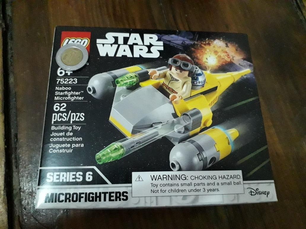 Set Lego Star Wars 75223 Naboo Starfighter Microfighter