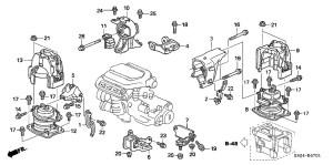 Soporte Motor Derecho O Distribucion Honda Odyssey Y Pilot