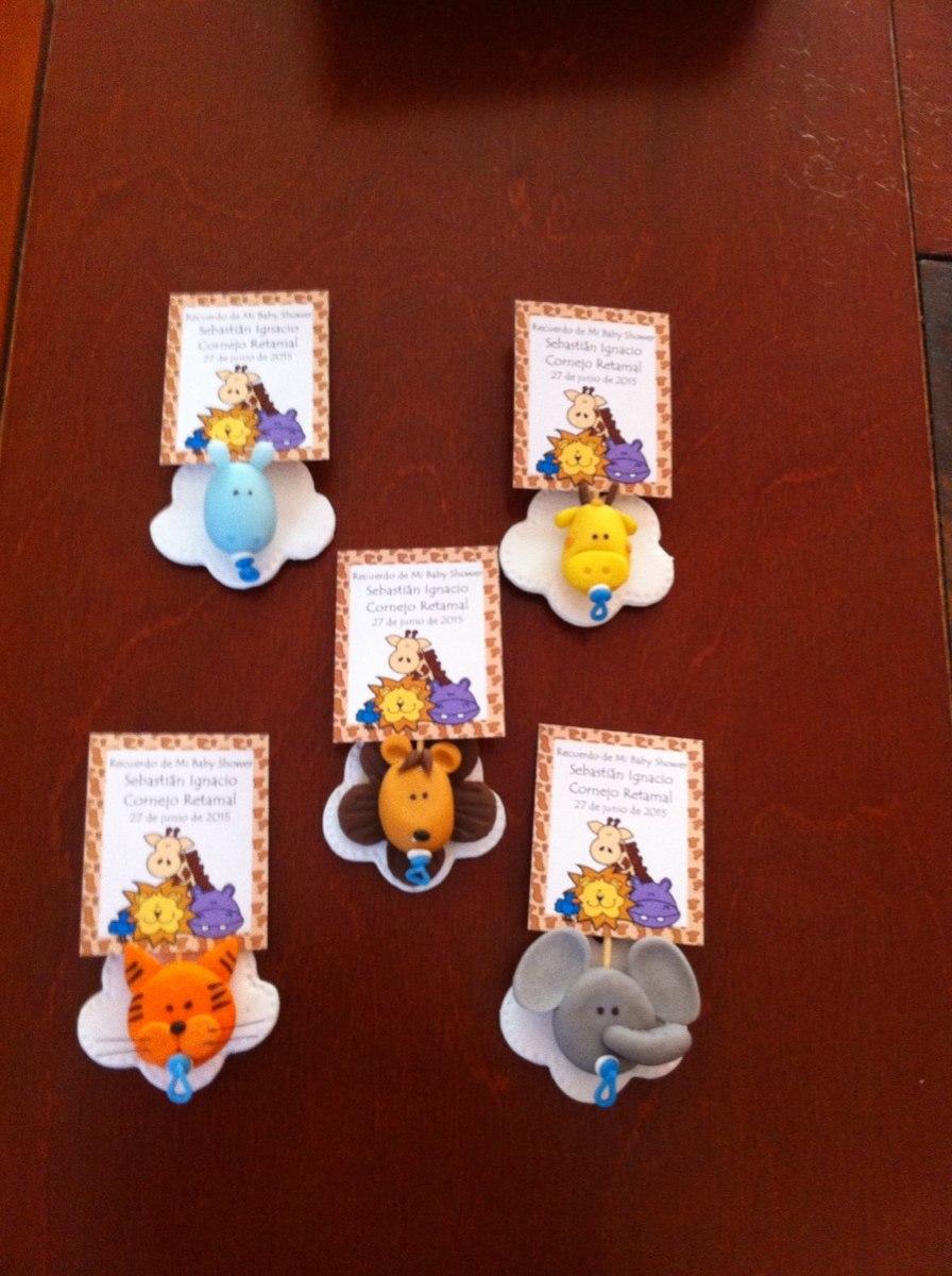 Souvenirs Porcelana Fria Babyshower Nacimiento Animales