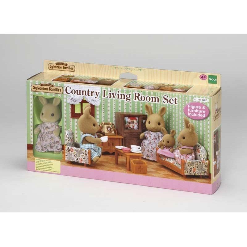 Sylvanian Families Country Living Room Set 5163 Yamanca 1 179
