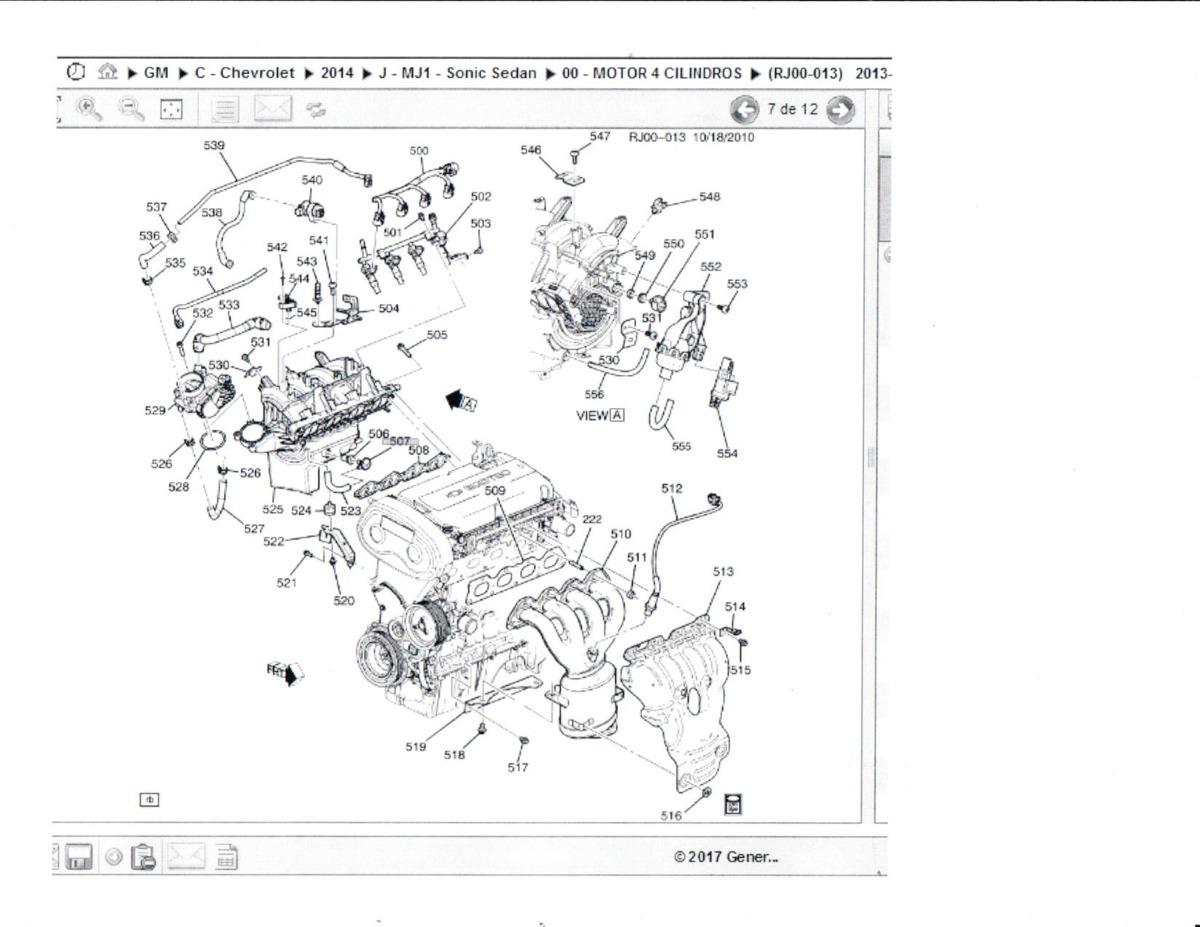 Termostato Original Chevrolet Sonic 1 6