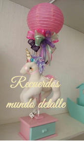Baby Shower Unicornio Centros De Mesa 1 Unicorn Centerpiece