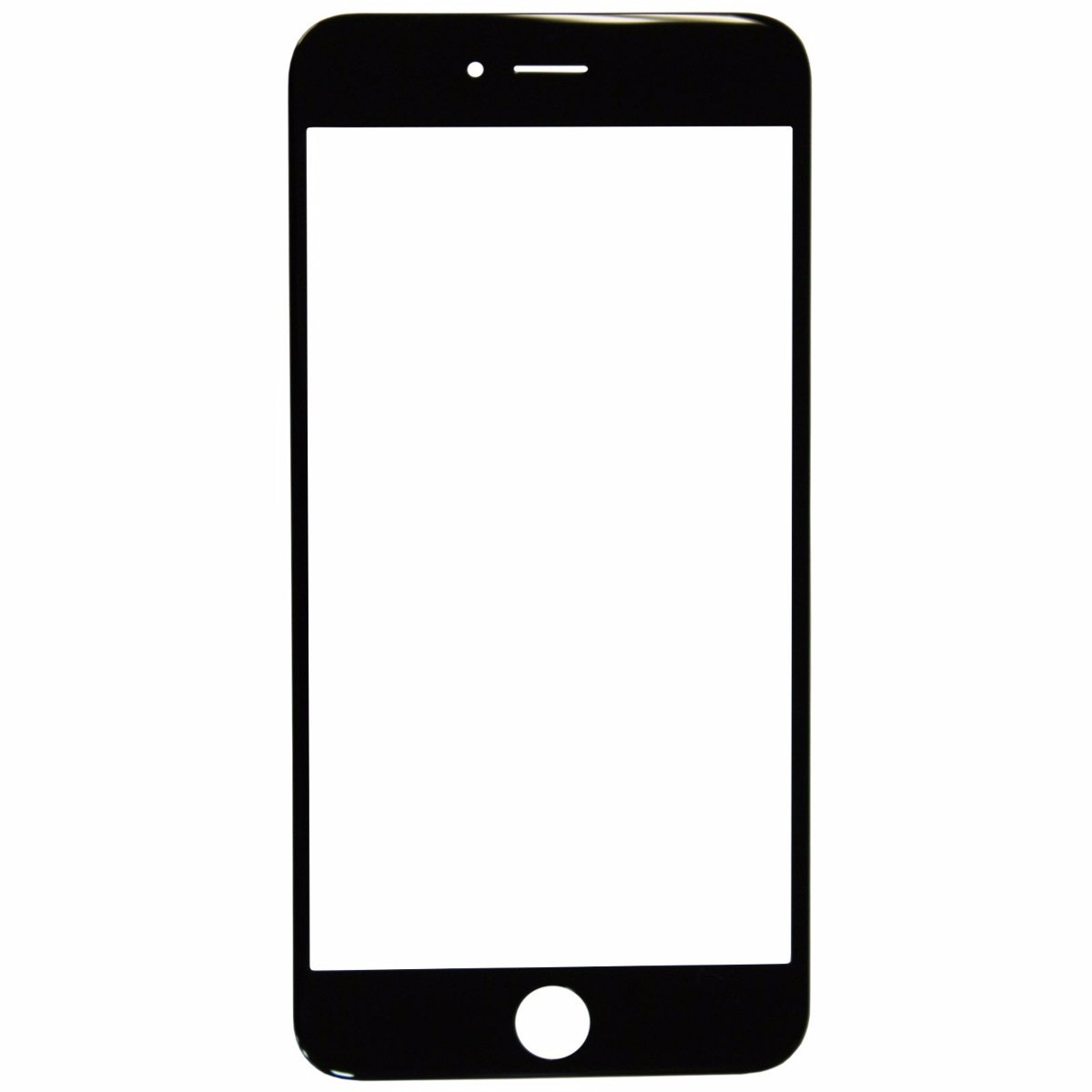 Vidro Tela Visor Original Apple Iphone 6 Plus 5 5 Preto
