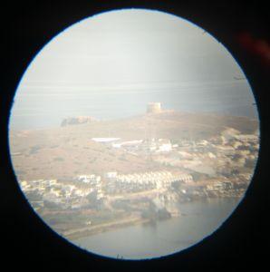Torre Fornells desde Monte Toro