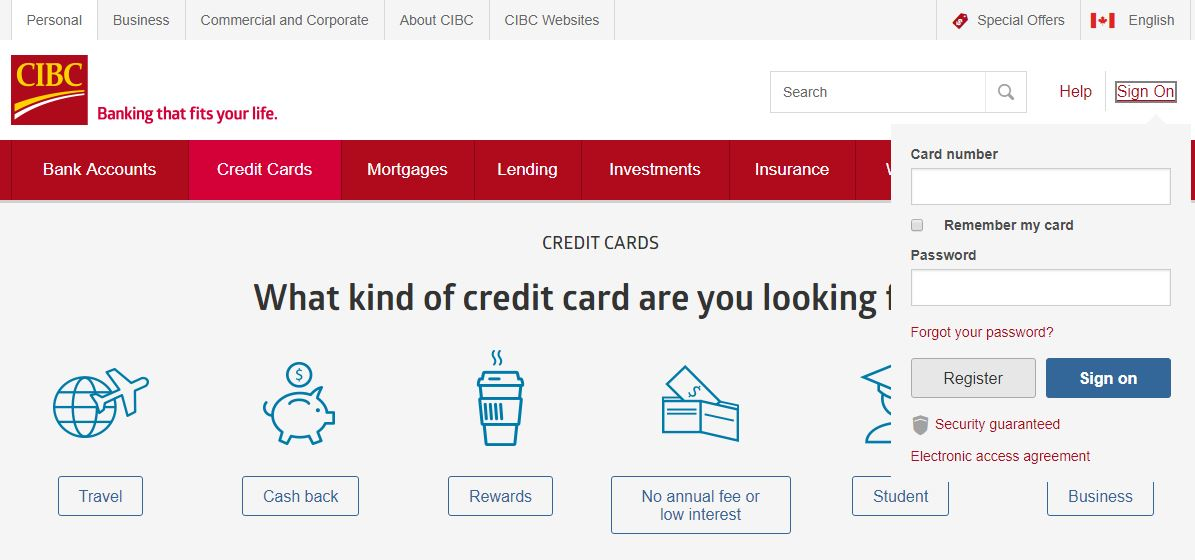 Cibc Online Banking Personal Sign