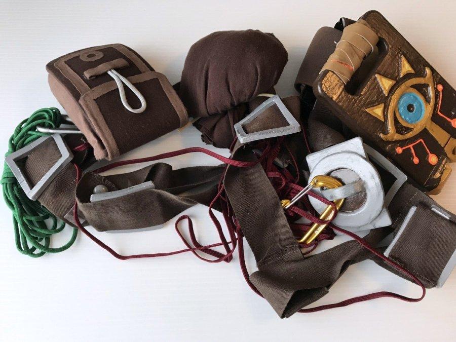 climbing gear link cosplay belt