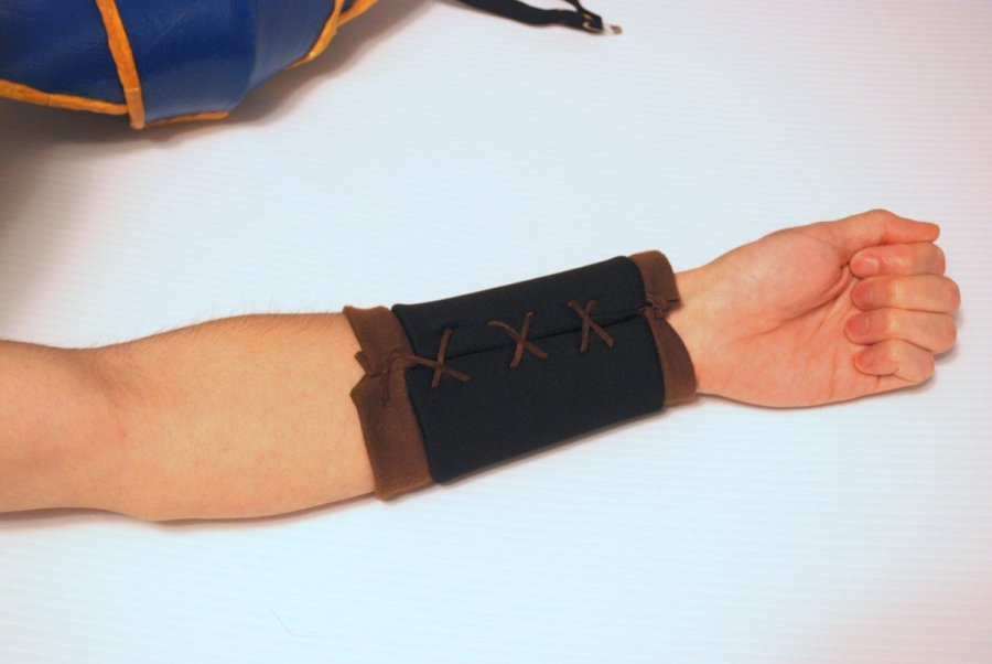 bracer without the foam pieces