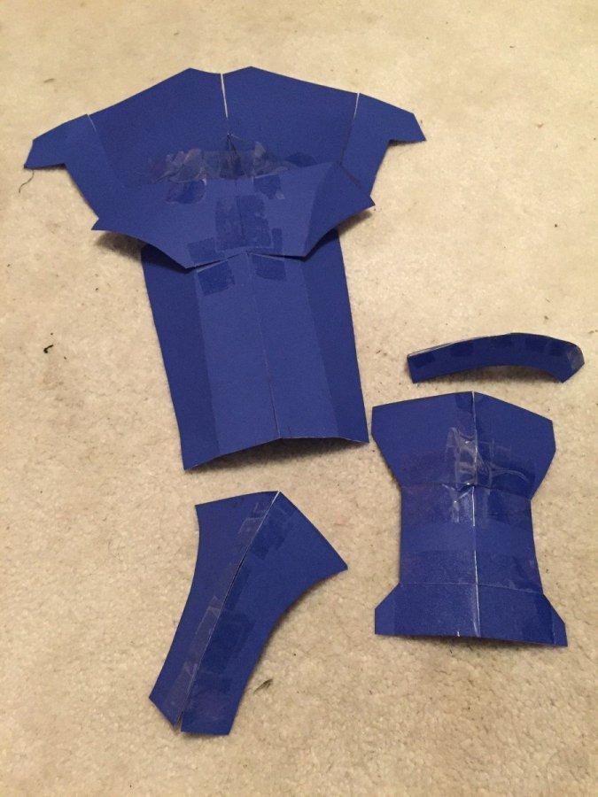 paper templates for ike cosplay