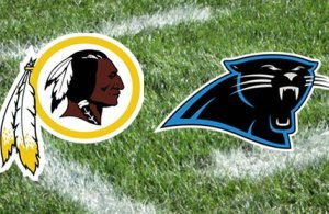 Washington Redskins Vs Carolina Panthers Week 9