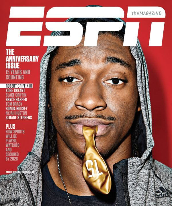 RG3 ESPN The Mag Cover