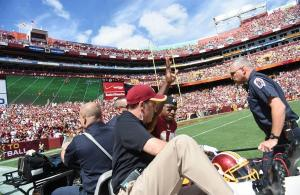 Robert Griffin III Dislocates his Ankle in Redskins vs Jags Game