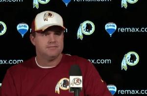 Redskins Press Conferences: Jay Gruden 11-14-2014