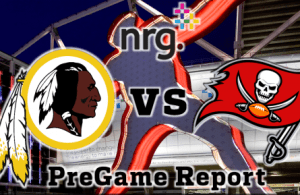 nrg pregame redskins vs bucs week 11