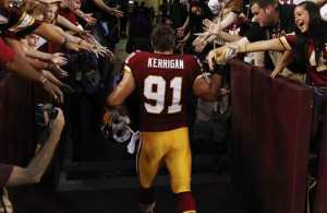 Ryan Kerrigan Undergoes Elbow Surgery