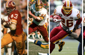 The Greatest Redskins RB's of All-Time
