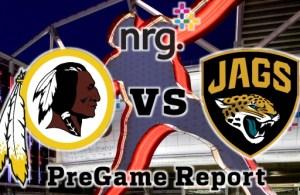 NRG Energy Pre-Game Report - Redskins vs Jaguars Preseason Week 4