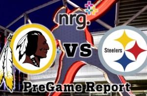 NRG Energy Pre-Game Report - Redskins vs Steelers Week 1