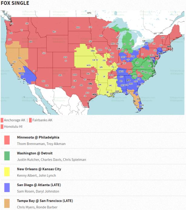 Redskins vs Lions Week 7