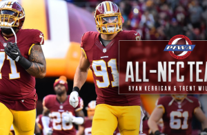Ryan Kerrigan & Trent Williams Named To All-NFC Team By PFWA