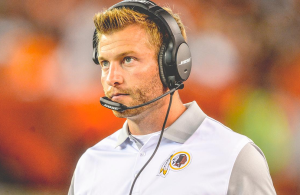 Redskins Will Look At In-House Options to Replace Sean McVay