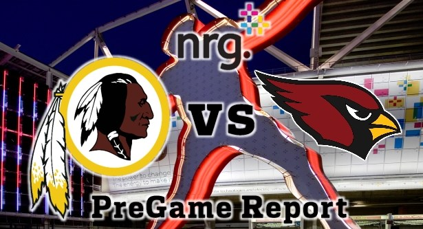 HTTR4LIFE Pre-Game Report - Redskins vs Cardinals Week 15