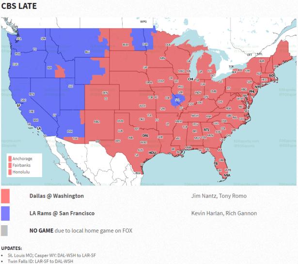 Redskins vs Cowboys Week 7