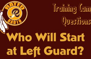 Who Will Start at Left Guard?