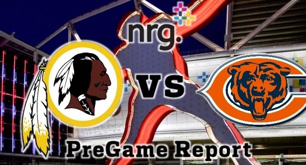 HTTR4LIFE Pre-Game Report - Redskins vs Bears Week 3