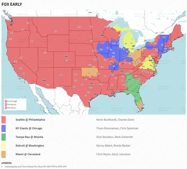 Redskins vs Lions Week 12