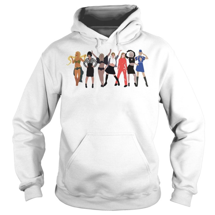 Britney Spears outfit evolution Hoodie