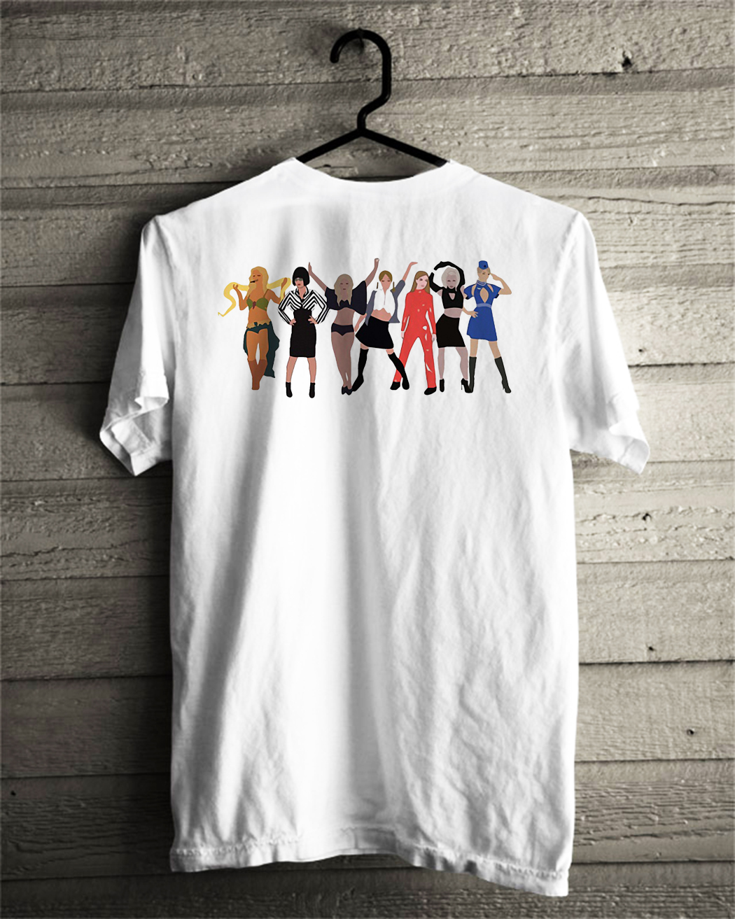 Britney Spears outfit evolution shirt