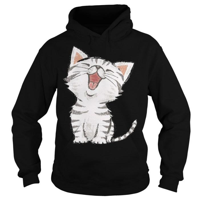Cat American shorthair happy Hoodie
