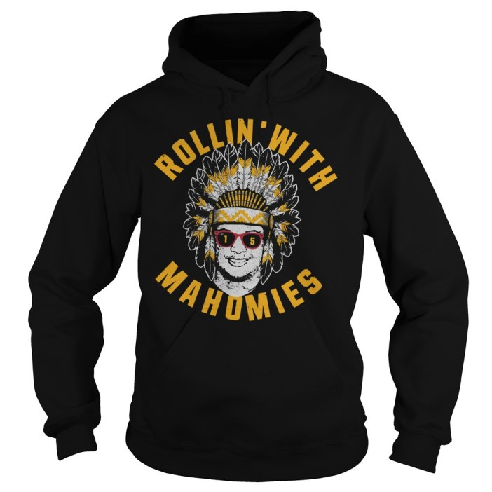 Rollin' With Mahomies Patrick Mahomes Chiefs Inspired Hoodie
